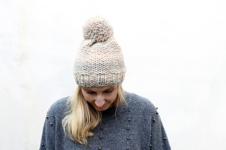 Ravelry: Easy Garter Stitch Hat pattern by Louise Bollanos