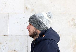 free mens chunky hat knitting pattern