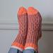 Waves Made Socks pattern