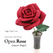 Rose, Open (Saucer Shape) pattern