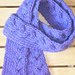 Bryher Cable Skinny Scarf pattern