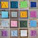 Alphabet Bobble Afghan Squares pattern