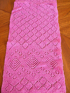 Shetland scarf