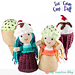 Ice Cream Cone Doll pattern