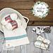 Farmhouse Towel & Washcloth Set pattern