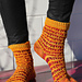 Light the Torches Socks pattern