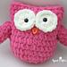 Plush Owl pattern