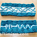 Resistor Headband w/ DNA option, March for Science pattern