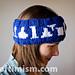 Laboratory Glassware Headband (with beanie option) pattern