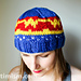 Wonder Woman Inspired Knit Hat pattern