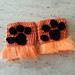 Fingerless mittens lion paw pattern