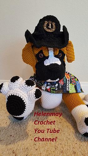 Pug Puppy - PDF Crochet Pattern (con imágenes)   Ganchillo ...   500x282