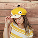 psyduck pokemon newsboy hat pattern