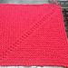 Reversed Mitered Square pattern