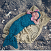 One-Piece Infant Mermaid Bunting pattern