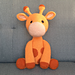 Ginnie the Giraffe pattern