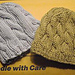 Cabled Baby Hats pattern