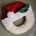 Santa Wreath pattern