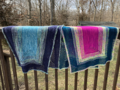 COS Center Out Shawl