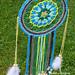 Blue and Green Dreamcatcher pattern
