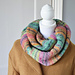 Colorful Stripes Infinity Scarf pattern