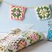 Granny Square Mason Jar Cozy + more pattern