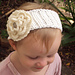 Knit-Look Fascinator Headwrap pattern