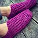Thermal Knit-Look Socks pattern