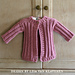 Petite Rib Baby Cardigan pattern