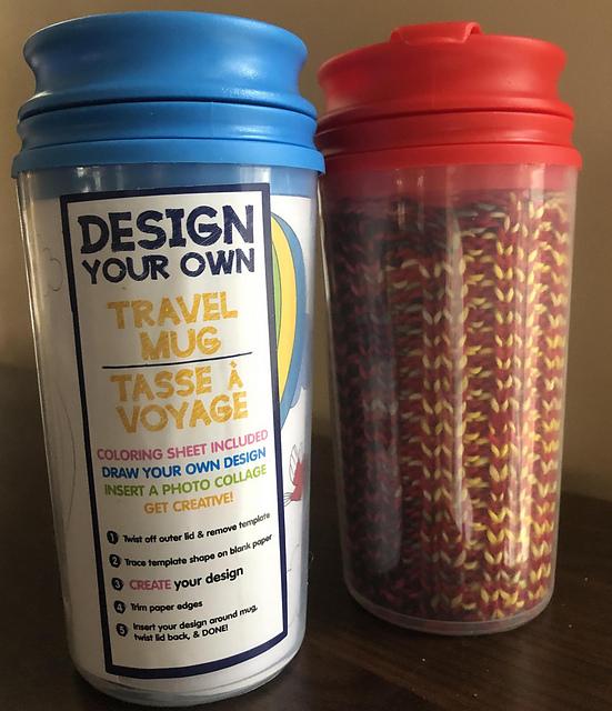 Travel Mug Pattern By Holly Beemer