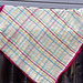 Intarsia Plaid Blanket pattern