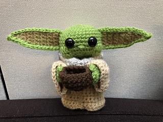 Crochet a Life-Size Baby Yoda Amigurumi, Designed By Crafty Is ... | 240x320