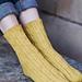 Conferva villosa Sock pattern