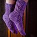 Crocus vernus Socks pattern