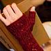 Rosa rubiginosa Mitts pattern