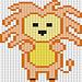 Lion of Kenya pattern