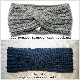 Ravelry: DIY double sided twisted headband pattern by ...