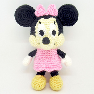 Mickey Mouse Crochet pattern - Amigurumi toy PDF pattern - Crochet ... | 320x320