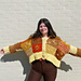 Patchwork Cardigan with Embroidery pattern