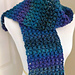 Tweedy Puff Stitch Scarf pattern