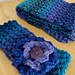 Tweedy Puff Stitch Ear Warmer pattern