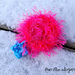 Fuzzy Charm Hair Accessory pattern
