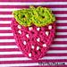 Summer Strawberry Applique pattern