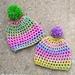Confetti Newborn Hat pattern