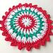 Merry Berry Dishcloth pattern