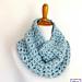 Finger Crochet Sparkle Cowl pattern
