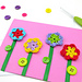 Pretty Blossoms Greeting Card pattern