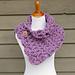 Lavender Clouds Neckwrap pattern
