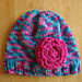 Cotton Candy Toddler Hat pattern