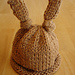 Baby Bunny Newborn or Preemie Hat pattern
